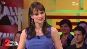 Lorena Bianchetti dans Italia Sul Due - 09/02/12 - 08