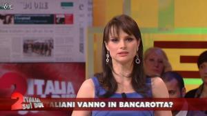 Lorena Bianchetti dans Italia Sul Due - 09/02/12 - 10