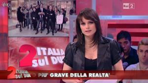Lorena Bianchetti dans Italia Sul Due - 13/04/12 - 05