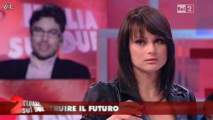 Lorena Bianchetti dans Italia Sul Due - 13/04/12 - 08