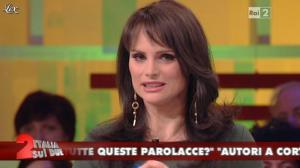 Lorena Bianchetti dans Italia Sul Due - 17/02/12 - 10