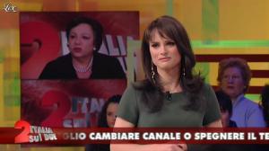 Lorena Bianchetti dans Italia Sul Due - 17/02/12 - 11