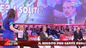 Lorena Bianchetti dans Italia Sul Due - 17/04/12 - 05