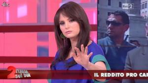 Lorena Bianchetti dans Italia Sul Due - 17/04/12 - 10