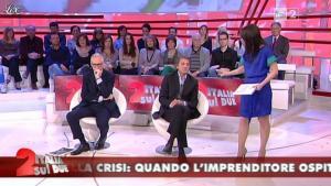 Lorena Bianchetti dans Italia Sul Due - 17/04/12 - 12