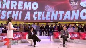 Lorena Bianchetti dans Italia Sul Due - 20/02/12 - 02
