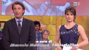 Lorena Bianchetti dans Italia Sul Due - 29/02/12 - 02