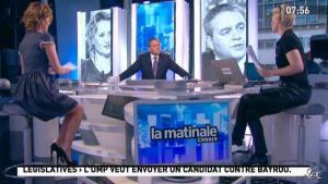 Maïtena Biraben et Caroline Roux dans la Matinale - 09/05/12 - 02