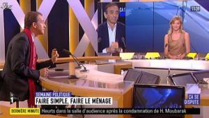 Maya Lauqué sur i-Télé - 02/06/12 - 02