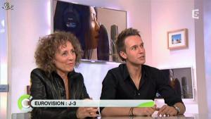 Mireille Dumas dans C à Vous - 23/05/12 - 02