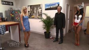 Nabilla Benattia et Caroline Receveur dans Hollywood Girls - 01/10/12 - 01