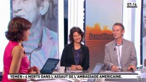 Nathalie Iannetta dans la Matinale - 14/09/12 - 02