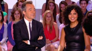Nawell Madani dans le Grand Journal de Canal Plus - 03/07/12 - 09