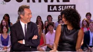 Nawell Madani dans le Grand Journal de Canal Plus - 03/07/12 - 10