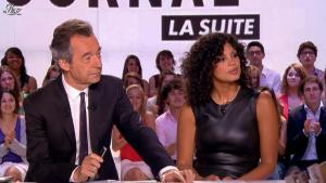 Nawell Madani dans le Grand Journal de Canal Plus - 03/07/12 - 11