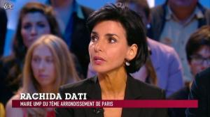 Rachida Dati dans le Grand Journal de Canal Plus - 11/06/12 - 03