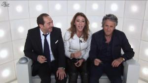 Sabrina Salerno dans le Grand Journal de Canal Plus - 04/10/12 - 02