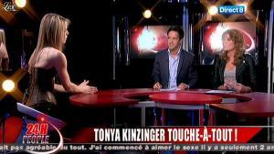 Tonya Kinzinger dans 24 H People - 02/03/11 - 02