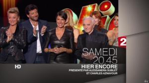 Alessandra Sublet dans une Bande-Annonce pour Hier Encore - 25/02/13 - 02