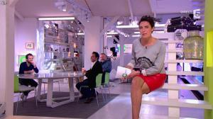 Alessandra Sublet dans C à Vous - 06/05/13 - 03