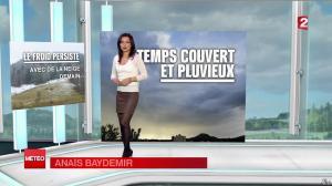 Anais Baydemir à la Météo - 04/04/13 - 01