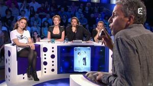 Audrey Dana et Natacha Polony dans On n'est pas Couché - 26/10/13 - 02