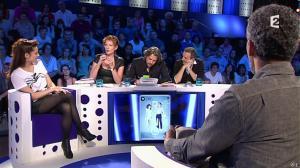 Audrey Dana et Natacha Polony dans On n'est pas Couché - 26/10/13 - 03