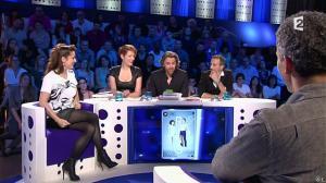 Audrey Dana et Natacha Polony dans On n'est pas Couché - 26/10/13 - 04