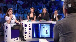 Audrey Dana et Natacha Polony dans On n'est pas Couché - 26/10/13 - 05