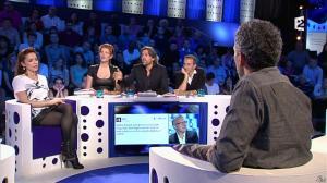 Audrey Dana et Natacha Polony dans On n'est pas Couché - 26/10/13 - 06