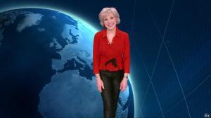 Evelyne Dhéliat dans la Meteo de 20 H - 05/03/13 - 01