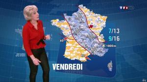 Evelyne Dhéliat dans la Meteo de 20 H - 05/03/13 - 02