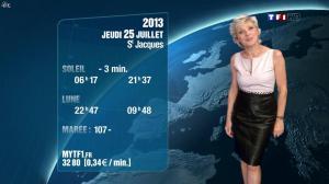 Evelyne Dhéliat à la Météo de 20 H - 24/07/13 - 02