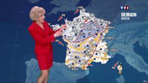 Evelyne Dhéliat à la Météo de 20h - 11/03/13 - 02