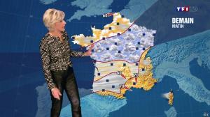 Evelyne Dhéliat à la Météo de de 20h - 04/12/13 - 02
