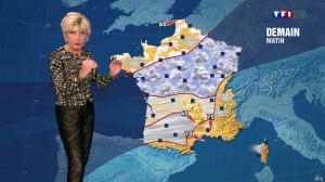 Evelyne Dhéliat à la Météo de de 20h - 04/12/13 - 03