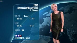 Evelyne Dhéliat à la Météo de de 20h - 19/11/13 - 04