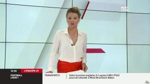 France Pierron dans Menu Sport - 01/08/13 - 04