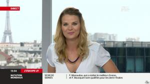 France Pierron dans Menu Sport - 02/08/13 - 08