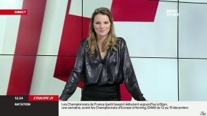 France Pierron dans Menu Sport - 05/12/13 - 05