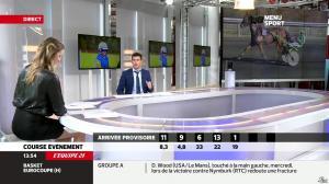 France Pierron dans Menu Sport - 05/12/13 - 07