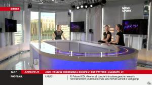 France Pierron dans Menu Sport - 12/12/13 - 05