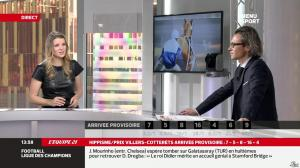 France Pierron dans Menu Sport - 12/12/13 - 11