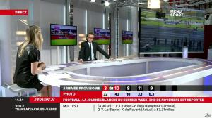 France Pierron dans Menu Sport - 14/11/13 - 09
