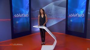 Leïla Kaddour Boudadi au JT d'Arte - 03/07/13 - 02