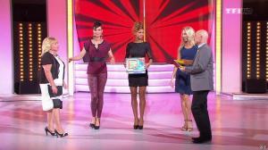 Les Gafettes, Fanny Veyrac, Doris Rouesne et Nadia Aydanne dans le Juste Prix - 05/12/13 - 08