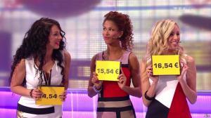 Les Gafettes, Fanny Veyrac, Doris Rouesne et Nadia Aydanne dans le Juste Prix - 09/01/13 - 06