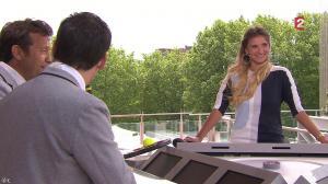Tatiana Golovin dans Roland Garros - 01/06/13 - 03