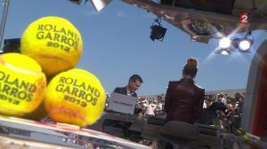 Tatiana Golovin dans Roland Garros - 04/06/13 - 05