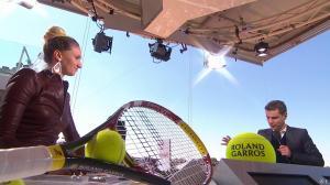 Tatiana Golovin dans Roland Garros - 04/06/13 - 10